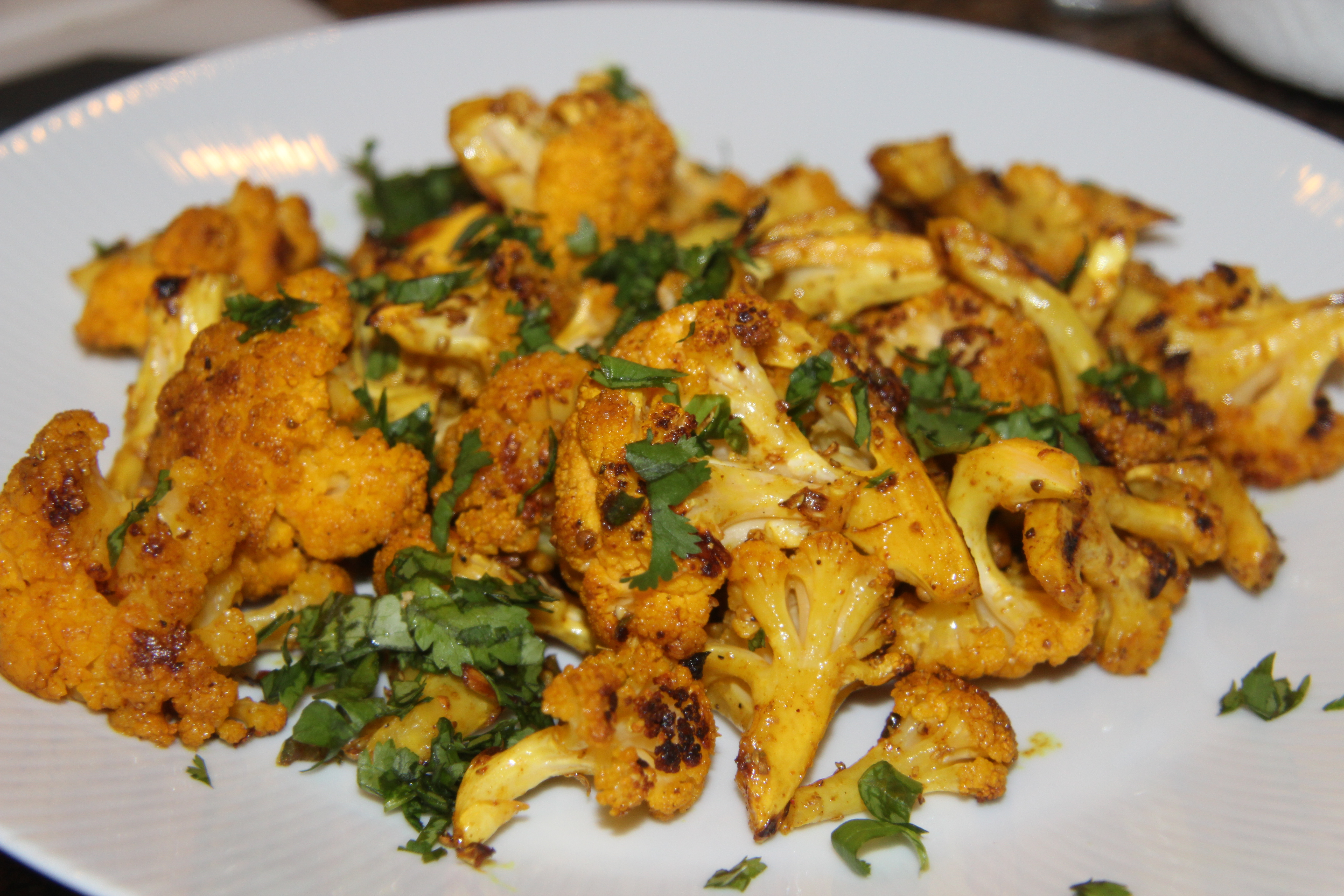 ... Cauliflower Recipes indian -spiced roasted cauliflower ideal diet